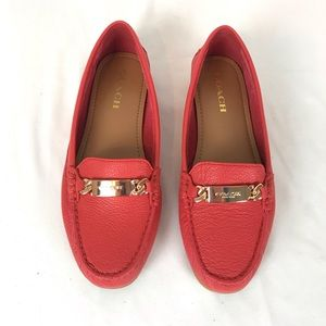 Coach olive A7751 loafer